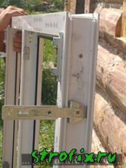 Установка пластиковых окон в деревянном доме фото и видео
