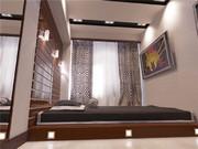 Кровать-подиум в интерьере: разновидности, эстетика и практицизм