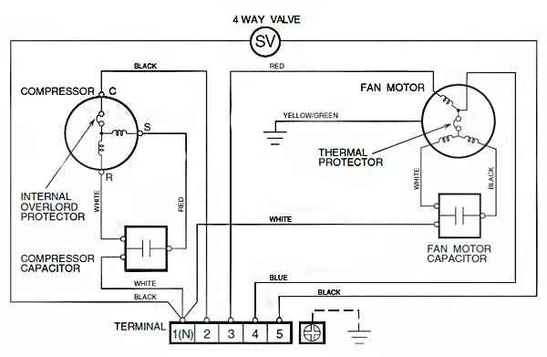 Электрическая схема внешнего
