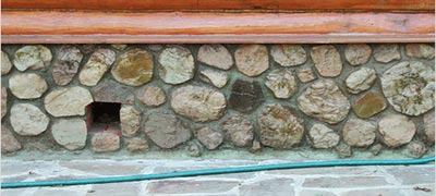 Бутовый фундамент - из бутового камня