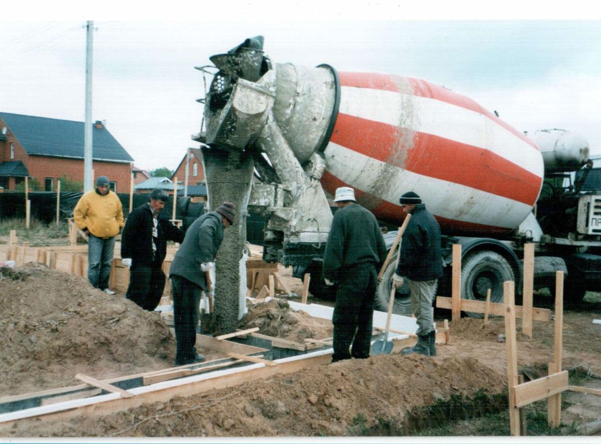 Пропорции - как приготовить бетон М200 своими руками 20