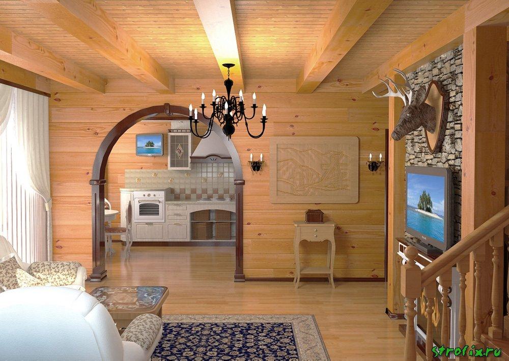 Отделка дома внутри дизайн