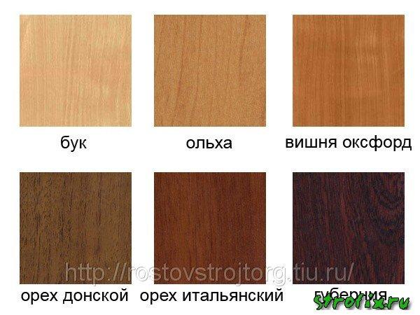 Ламинат для мебели цвета фото