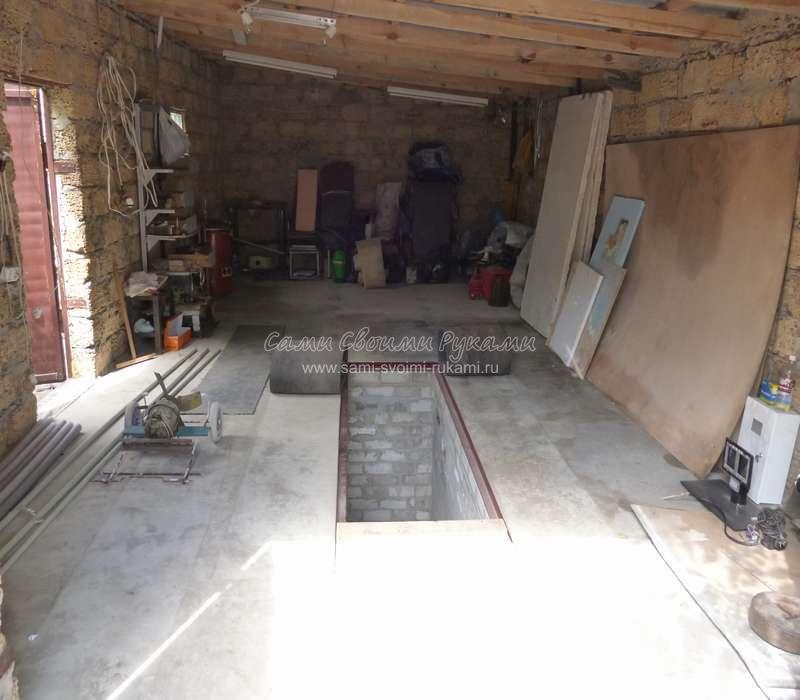 Сделать пол в гараже своими руками