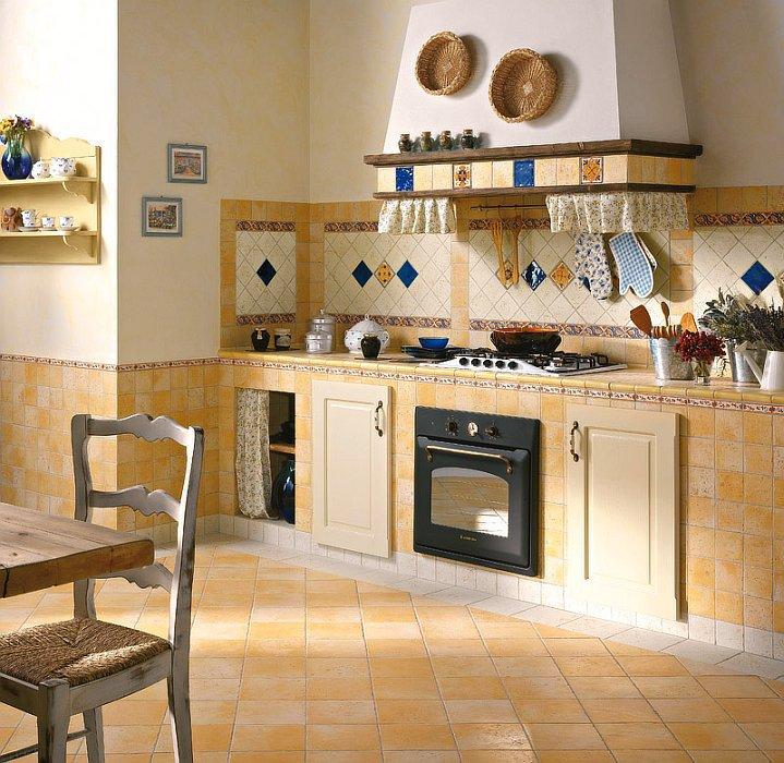 Напольная плитка для кухни расход