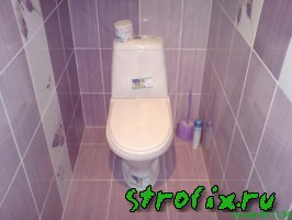 Плитка в туалете фото